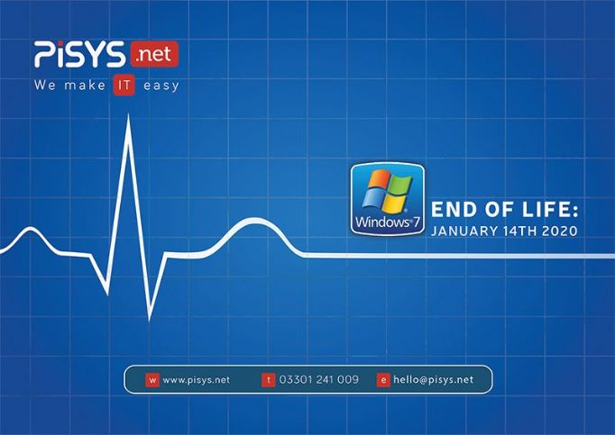 **IMPORTANT** Only one year left of Microsoft Windows 7.